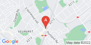 Google static map for A Yeatman & Sons Funeral Directors, South Norwood