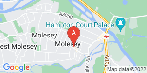 Google static map for Frederick W Paine Funeral Directors, East Molesey