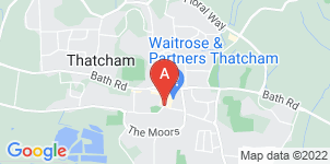 Google static map for Geoffrey Church & Co, Thatcham