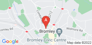 Google static map for Francis Chappell & Sons Funeral Directors, Bromley