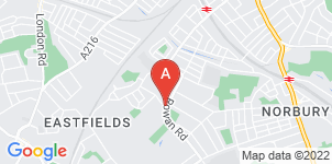 Google static map for Alfred Smith Funeral Directors, Streatham Vale