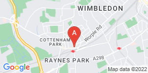 Google static map for The Co-operative Funeralcare, Raynes Park