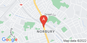 Google static map for Gillman Funeral Service, Norbury