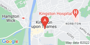 Google static map for Frederick W Paine Funeral Directors, Kingston upon Thames