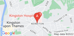 Google static map for Frederick W Paine Funeral Directors, Norbiton