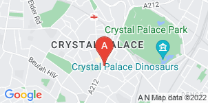 Google static map for Francis Chappell & Sons Funeral Directors, Upper Norwood