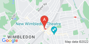 Google static map for Ashton Funeral Directors, Wimbledon