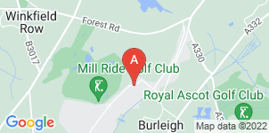 Google static map for A J Brooke Funeral Directors
