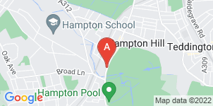 Google static map for Alan Greenwood & Sons Hampton Hill