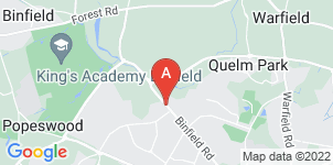 Google static map for A.B Walker & Son Ltd, Bracknell