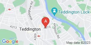 Google static map for Frederick W Paine Funeral Directors, Teddington