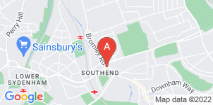 Google static map for Mears Family Funerals Catford Branch