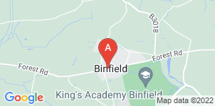 Google static map for Miles & Daughters, Bracknell