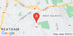 Google static map for A Yeatman & Sons Funeral Directors, West Norwood