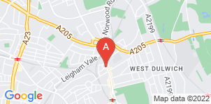 Google static map for West Norwood Funeralcare