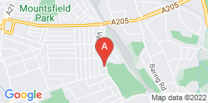 Google static map for Francis Chappell & Sons Funeral Directors, Catford