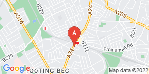 Google static map for Ashton Funeral Directors, Balham