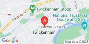 Google static map for T H Sanders & Higgs Funeral Directors