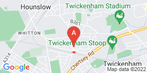 Google static map for T H Sanders & Sons Funeral Directors