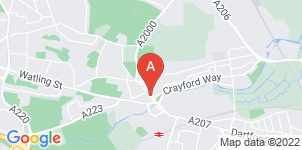 Google static map for Nash Funeral Directors, Dartford
