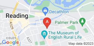 Google static map for A.B Walker & Son Ltd, Reading