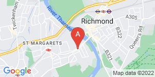 Google static map for Andrew Holmes Funeralcare, East Twickenham