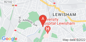 Google static map for Mears Family Funerals Lewisham Branch