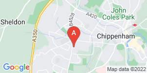 Google static map for Bewley & Merrett Funeral Directors, Chippenham