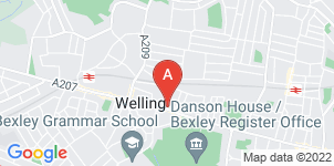 Google static map for Nash Funeral Directors, Welling