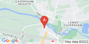Google static map for Miles & Daughters, Reading
