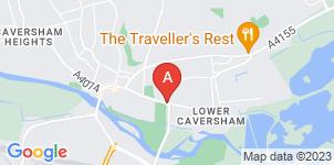 Google static map for A.B Walker & Son Ltd, Caversham