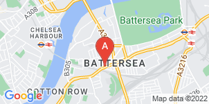 Google static map for The Co-operative Funeralcare, Battersea