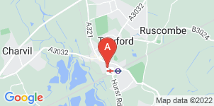 Google static map for Miles & Daughters, Twyford