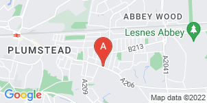 Google static map for Abbeywood Funeralcare, Abbey Wood