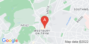 Google static map for Memorial Woodlands Funeral Directors, Westbury-on-Trym
