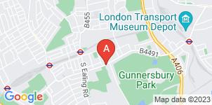 Google static map for A Galla Funeral Directors Ltd