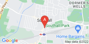 Google static map for A Spicer & Son Funeral Directors