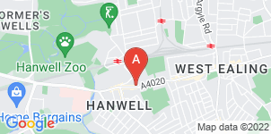 Google static map for A Cain Funeral Services, Hanwell