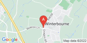 Google static map for F Woodruff Funeral Directors, Winterbourne