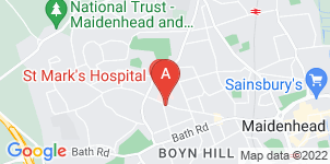 Google static map for Berkshire Funeral Service