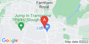 Google static map for Arnold Funeral Service, Slough