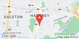 Google static map for The Co-operative Funeralcare, Hackney