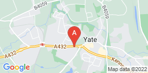 Google static map for F Woodruff Funeral Directors, Yate