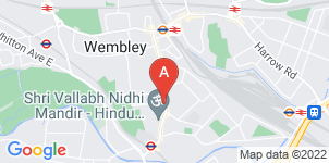 Google static map for Asian Funeral Directors, Wembley