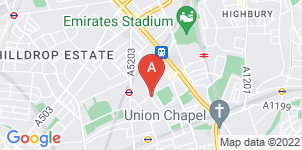 Google static map for A E Bragg Funeral Directors