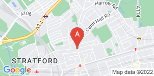 Google static map for William Denys Funeral Directors, Stratford