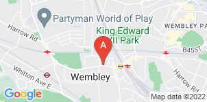 Google static map for G Saville & Sons Ltd, Wembley