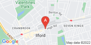 Google static map for Heritage Funeral Directors