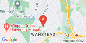 Google static map for A & C Tadman, Wanstead