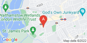 Google static map for Alfred English & Sons Funeral Directors